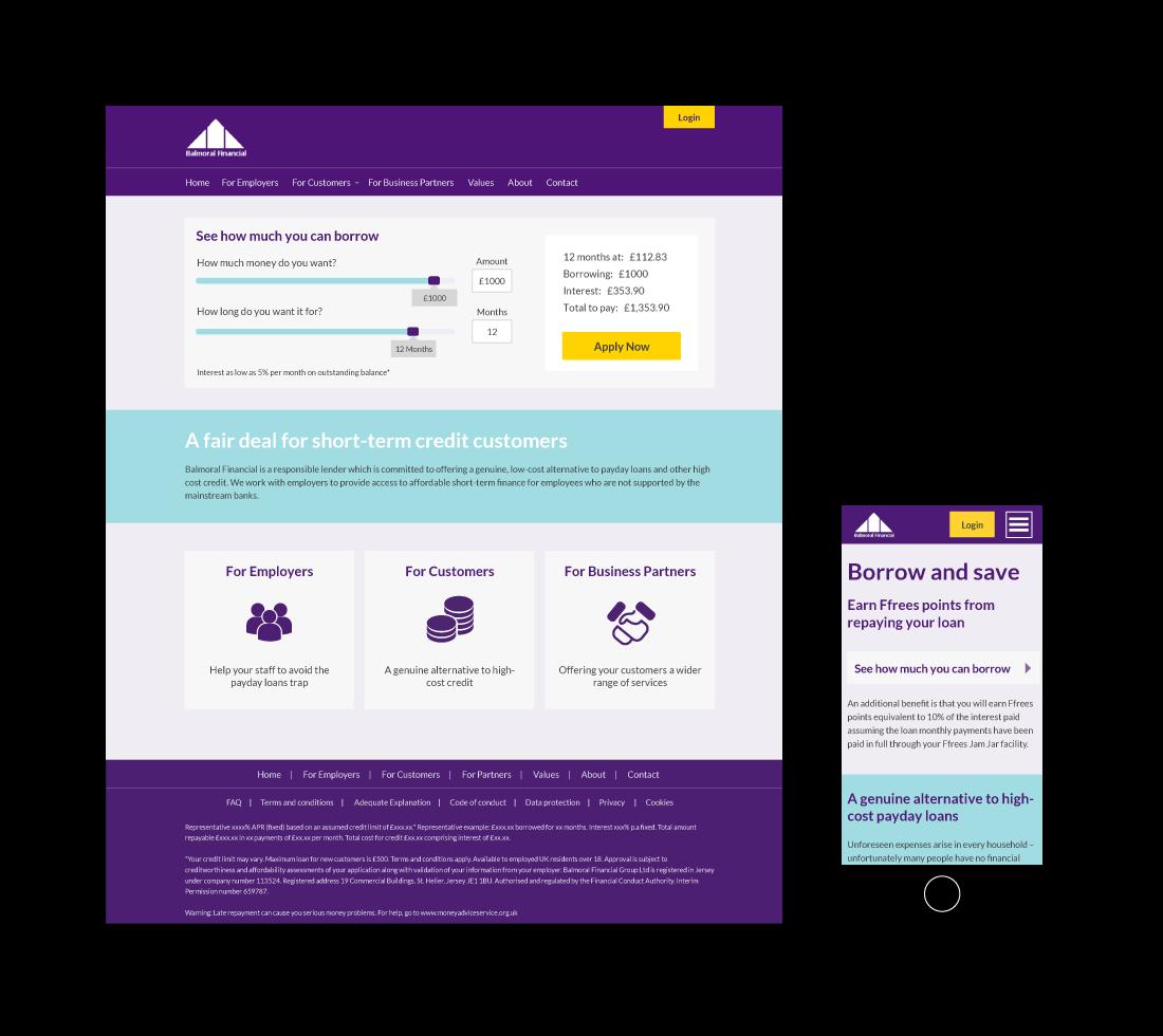 Balmoral Web Design