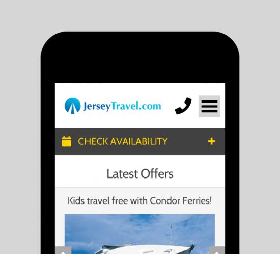 CI Travel Web UX Design