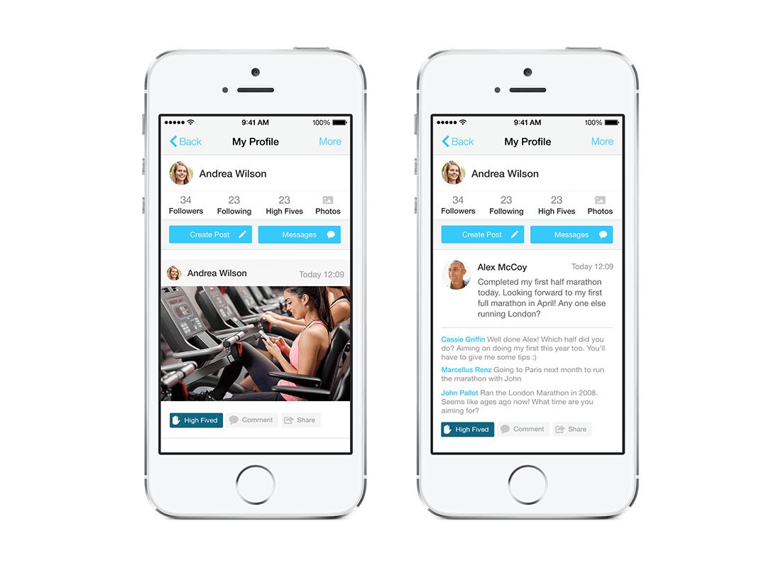 iOS App Design - PT Portal