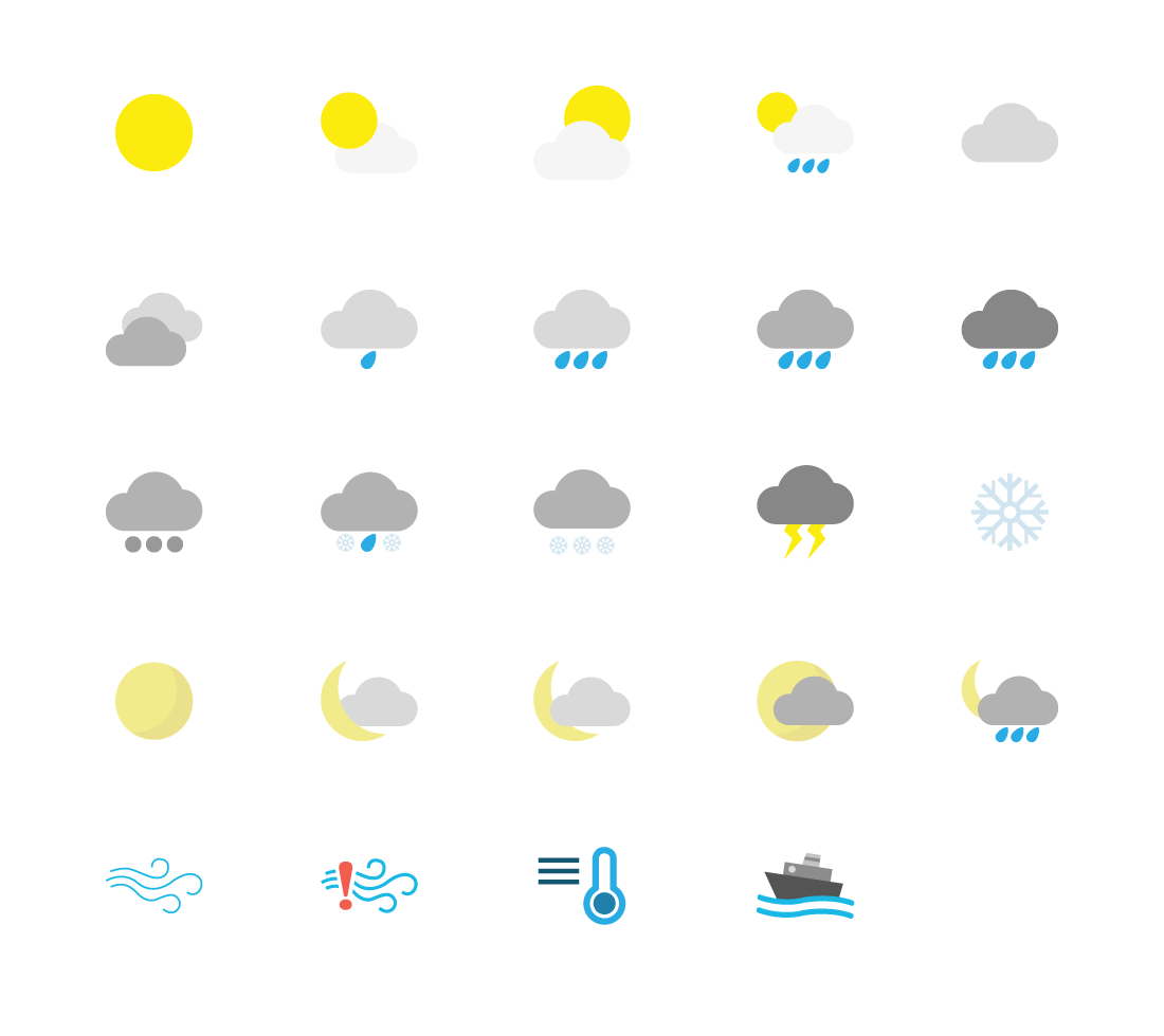 JT Insight Weather Icon Design
